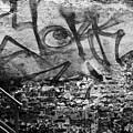 Back Alley Graffiti  by Dustin K Ryan