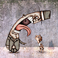 Bad Rich Man by Autogiro Illustration