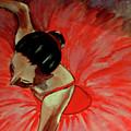 Ballerine Rouge by Rusty Woodward Gladdish