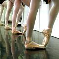 Ballet In Studio by Chiara Costa