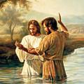 Baptism Of Christ by Greg Olsen
