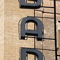 Bar. Neon Writing by Bernard Jaubert