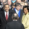 Barack Obama Is Sworn In As The 44th by Everett