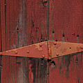Barn Hinge by Garry Gay