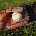 Baseball Gloves After The Game by Anna Lisa Yoder