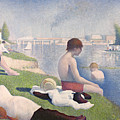 Bathers At Asnieres by Georges Pierre Seurat