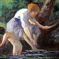 Bathing by Maximilien Luce