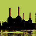 Battersea Power Station London by Jasna Buncic
