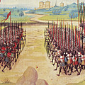 Battle Of Agincourt, 1415 by Granger