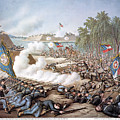 Battle Of Corinth, 1862 by Granger