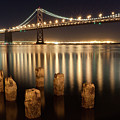 Bay Bridge Reflections by Connie Spinardi