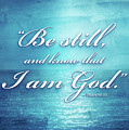 Be Still And Know by Shevon Johnson
