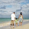 Beach Family by Brandon Tabiolo - Printscapes
