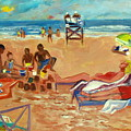Beach In August by Betty Pieper
