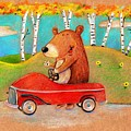 Bear Out For A Drive by Scott Nelson