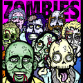 Bearded Zombies Group Photo by Christopher Capozzi
