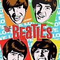 Beatles Pop Art by Jim Zahniser