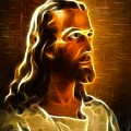 Beautiful Jesus Portrait by Pamela Johnson
