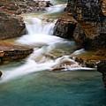 Beauty Creek Cascades by Larry Ricker