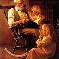 Bedtime Stories by Greg Olsen