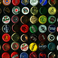 Beer Bottle Caps . 9 To 16 Proportion by Wingsdomain Art and Photography