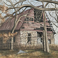 Bella Vista Barn by Patty Vicknair