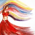 Belly Dancer 2 by Julie Lueders