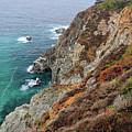 Big Sur Colorful Sea Cliffs by Pierre Leclerc Photography