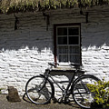 Bike At The Window County Clare Ireland by Teresa Mucha