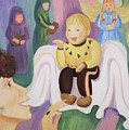 Billy As Baby Jesus by Suzanne  Marie Leclair