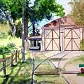 Birney Trolley Barn by Tom Riggs