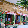 Bistro Jeanty Napa Valley  by Gail Chandler