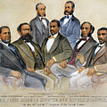Black Senators, 1872 by Granger