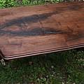 Black Walnut Table by Ivan Rijhoff