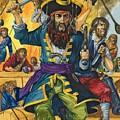 Blackbeard by Richard Hook