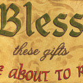 Bless These Gifts by Debbie DeWitt