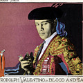 Blood And Sand, Rudolph Valentino, 1922 by Everett