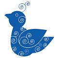 Blue Bird by Frank Tschakert