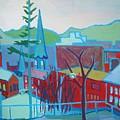 Blue Burlington by Debra Bretton Robinson
