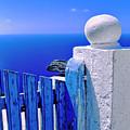 Blue Gate by Silvia Ganora