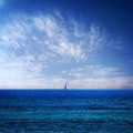 Blue Mediterranean by Stelios Kleanthous