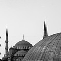 Blue Mosque, Istanbul by Dave Lansley
