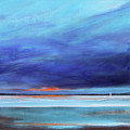 Blue Night Sail by Toni Grote