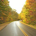Blue Ridge Parkway In Fall by Utopia Concepts