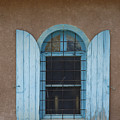 Blue Shutters by Jerry McElroy