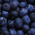 Blueberries Close-up - Vertical by Carol Groenen