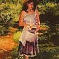 Blueberry Girl by Elizabeth Carr