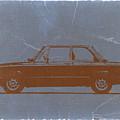 Bmw 2002 Orange by Naxart Studio