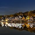 Boathouse Row by John Greim