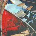Boats At The Dock by Jim Peirce